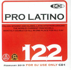 VARIOUS - DMC Pro Latino 122: Italian Spanish & Global Latin Hits From Around The World (Strictly DJ Only)