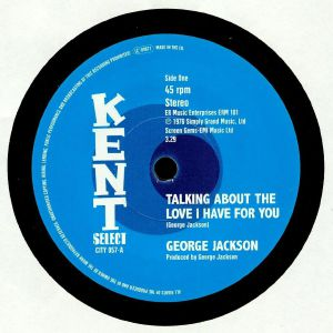 JACKSON, George - Talking About The Love I Have For You