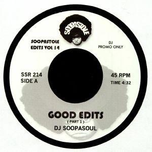 DJ SOOPASOUL - Good Edits