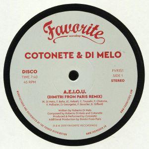 COTONETE/DI MELO - AEIOU
