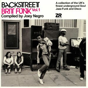 NEGRO, Joey/VARIOUS - Backstreet Brit Funk Vol 1
