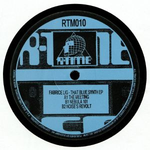 LIG, Fabrice - The Blue Synth EP