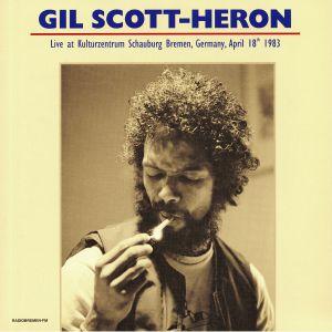 SCOTT HERON, Gil - Live At Kulturzentrum Schauburg Bremen Germany April 18th 1983