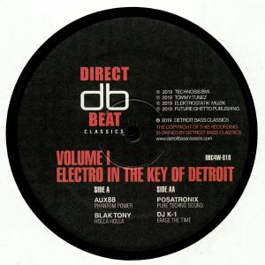 AUX 88/BLAK TONY/POSATRONIX/DJ K 1 - Electro In The Key Of Detroit Vol 1