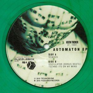 TUCKER, Keith - Automaton EP (reissue)