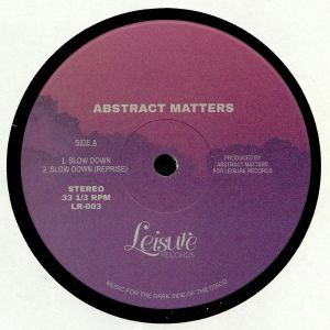 ABSTRACT MATTERS - Slow Down