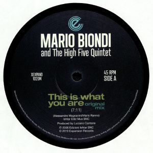 BIONDI, Mario/THE HIGH FIVE QUINTET - This Is What You Are