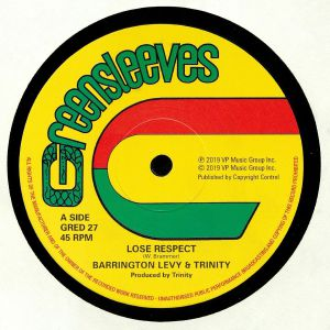 LEVY, Barrington/TRINITY/ROMAN STEWART - Lose Respect