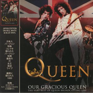 QUEEN - Our Gracious Queen: The Very Best Of Queen Broadcasting Live (Japan Edition)