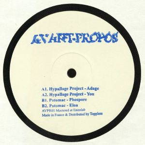 HYPALLAGE PROJECT/POTOMAC - Avant Propos 01