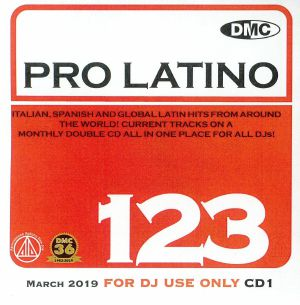 VARIOUS - DMC Pro Latino 123: Italian Spanish & Global Latin Hits From Around The World (Strictly DJ Only)