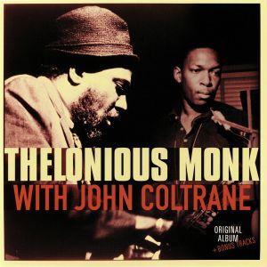 MONK, Thelonious with JOHN COLTRANE - Thelonious Monk With John Coltrane (reissue)