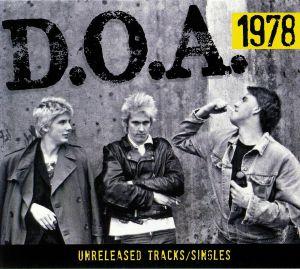 DOA - 1978: Unreleased Tracks & Singles
