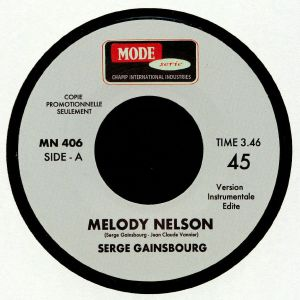 GAINSBOURG, Serge - Melody Nelson
