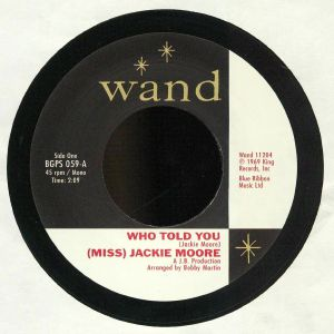 MOORE, Jackie - Who Told You