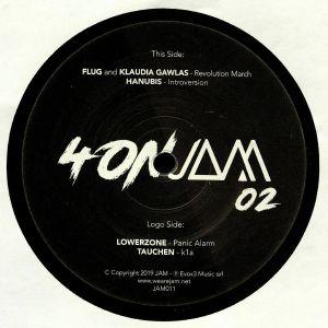 FLUG/KLAUDIA GAWLAS/HANUBIS/LOWERZONE/TAUCHEN - Four On Jam 02
