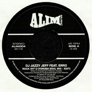 DJ JAZZY JEFF feat ERRO - Rock Wit U
