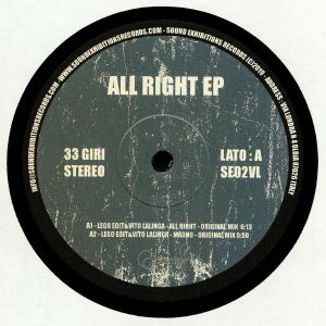 LEGO EDIT/VITO LALLINGA/PHIL DISCO/ROBJ - All Right EP