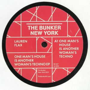 FLAX, Lauren - One Man's House Is Another Woman's Techno EP