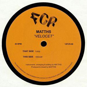 MATTHS - Velocet
