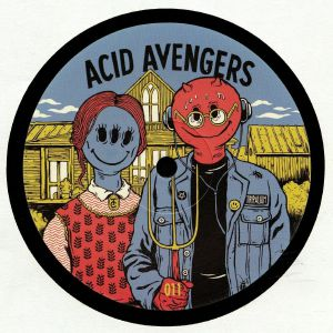 EKMAN/SOCIETY OF SILENCE - Acid Avengers 011