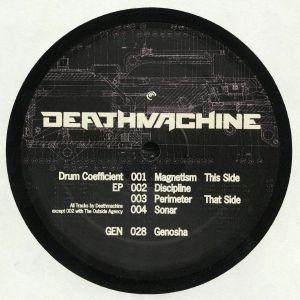 DEATHMACHINE - Drum Coefficient EP