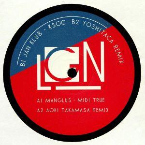 MANGLUS/JAN KLUB - Split EP