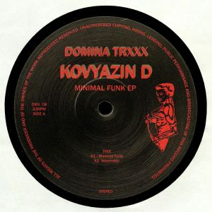 KOVYAZIN D - Minimal Funk EP