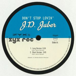 JD JABER - Don't Stop Lovin'