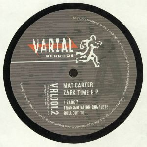 CARTER, Mat - Zark Time EP (reissue)