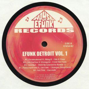 PIRAHNAHEAD/LEE CURTIS/STEINGOLD/LONELY C/PONTCHARTRAIN/IAN FINK - Efunk Detroit Vol 1
