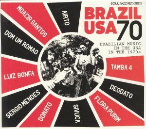 BAKER, Stuart/VARIOUS - Brazil USA 70: Brazilian Music In The USA In The 1970s