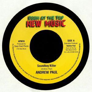 PAUL, Andrew - Soundboy Killer