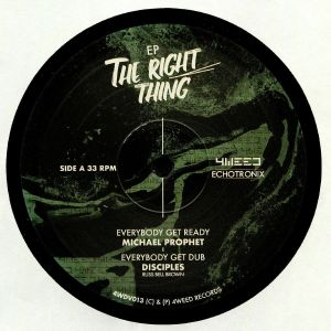 MICHAEL PROPHET/DISCIPLES/JOHNNY CLARKE - The Right Thing EP