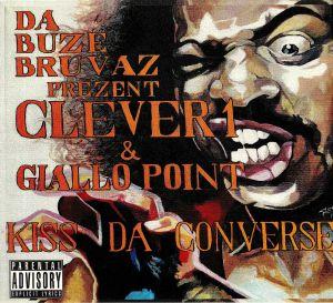 DA BUZE BRUVAZ presents CLEVER 1/GIALLO POINT - Kiss Da Converse