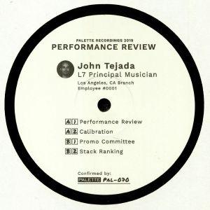 TEJADA, John - Performance Review