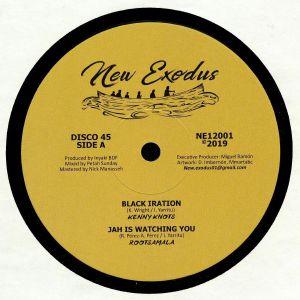 KNOTS, Kenny/ROOTSAMALA/BDF - Black Iration