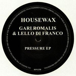 ROMALIS, Gari/LELLO DI FRANCO - Pressure EP