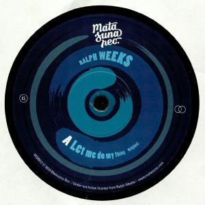 WEEKS, Ralph - Let Me Do My Thing (reissue)