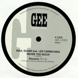 SOUL SUGAR feat LEONARDO CARMICHAEL - Never Too Much
