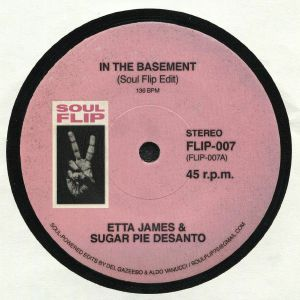 JAMES, Etta & SUGAR PIE DESANTO/JOHN GARY WILLIAMS - In The Basement