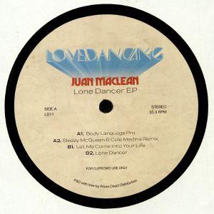 JUAN MacLEAN - The Lone Dancer EP