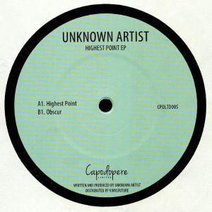 CAPODOPERE - Highest Point EP