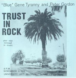 BLUE aka GENE TYRANNY/PETER GORDON - Trust In Rock