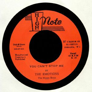 EMOTIONS, The/THE HIPPY BOYS - You Can't Stop Me