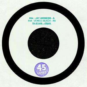 AIRINESS, Jay/VENICE BEACH - Jay Airiness & Venice Beach (reissue)