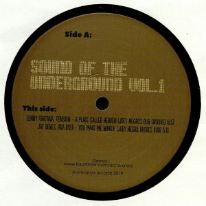 NEGRO, Joey/FRANKIE KNUCKLES/JULIAN SANZA/JAY DENES/LENNY FONTANA/TENSION/ADA DYER/SATOSHI TOMIIE/ANDREA MENDEZ - Sound Of The Underground Vol 1 (Joey Negro mixes)