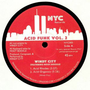 WINDY CITY feat MOOT BOOXLE - Acid Funk Vol 2