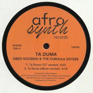NGOBENI, Obed/THE KURHULA SISTERS - Ta Duma