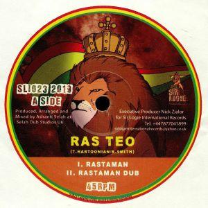 RAS TEO/MANANA HORNS - Rastaman